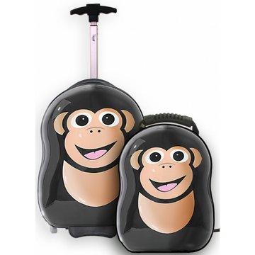 Trolley en rugzak Aap (Chimp the monkey)  Cutie and Pals