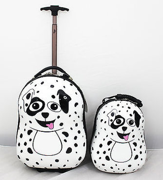 Trolley en rugzak Pupster de Dalmatier   Cutie and Pals