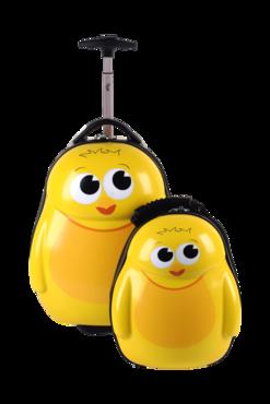 Trolley en rugzak Chico de kip   Cutie and Pals